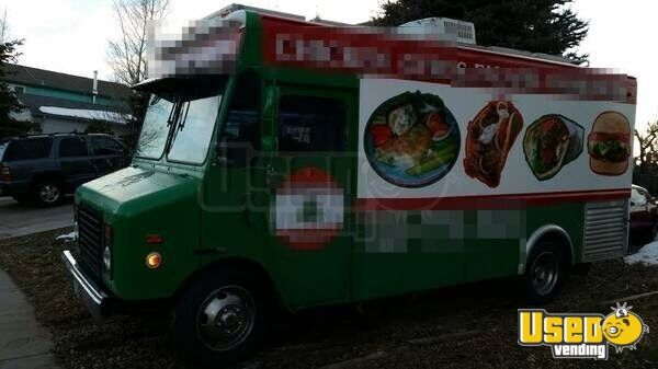 1996 Gmc Food Truck Propane Tank Colorado Gas Engine for Sale - 3