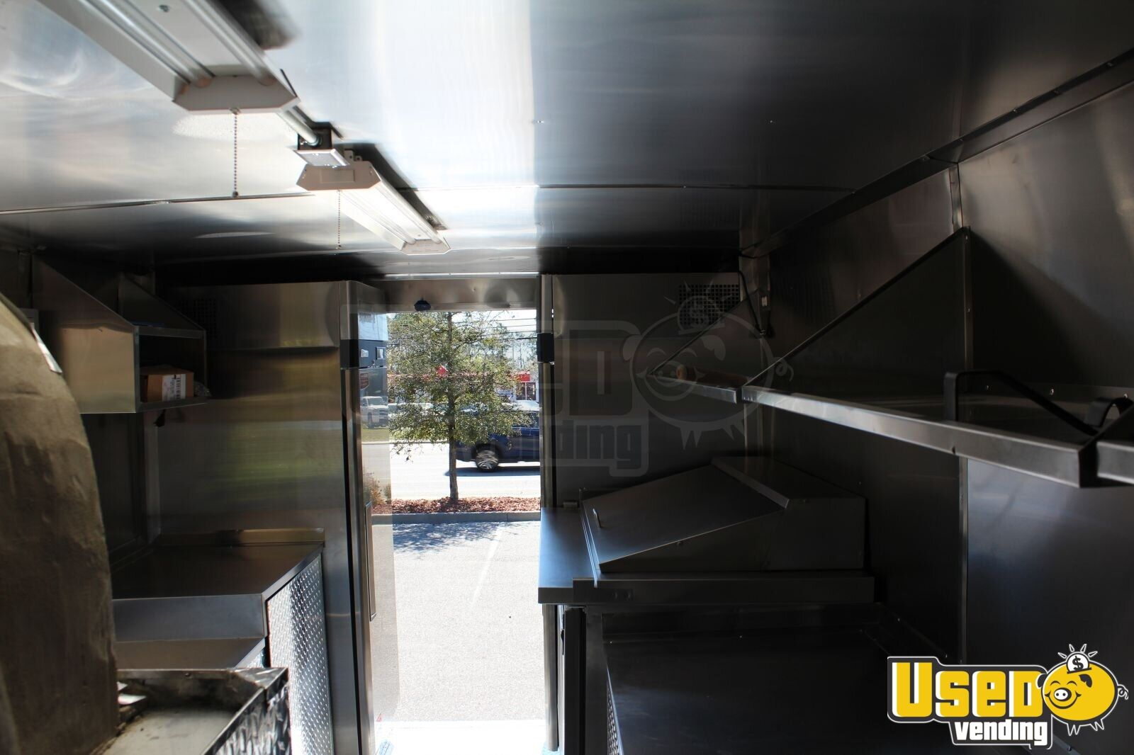 1996 Gmc Pizza Food Truck Cabinets South Carolina Diesel Engine for Sale - 3