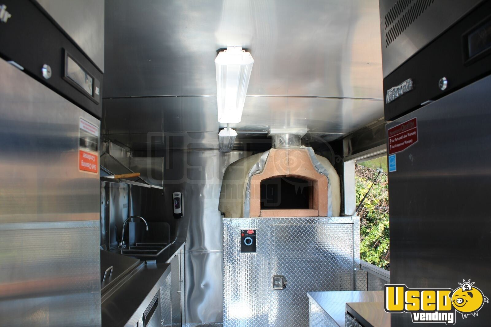 1996 Gmc Pizza Food Truck Insulated Walls South Carolina Diesel Engine for Sale - 5