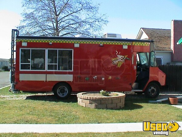 1996 Grumman Catering Food Truck California Gas Engine for Sale