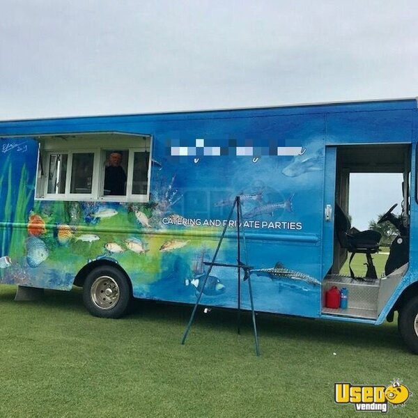 1996 Grumman Chevrolet All-purpose Food Truck Florida Gas Engine for Sale