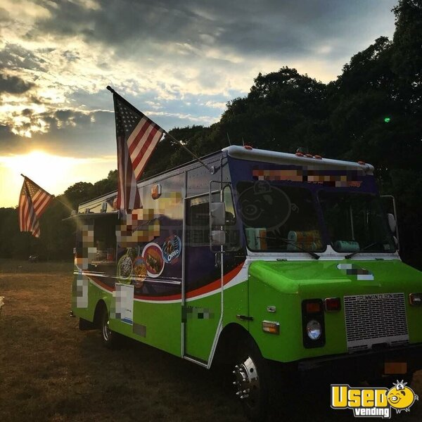 1996 Low Mileage Kitchen Food Truck All-purpose Food Truck New York Diesel Engine for Sale