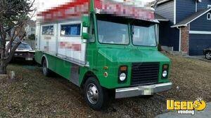 1996 Step Van Kitchen Food Truck All-purpose Food Truck Colorado Gas Engine for Sale