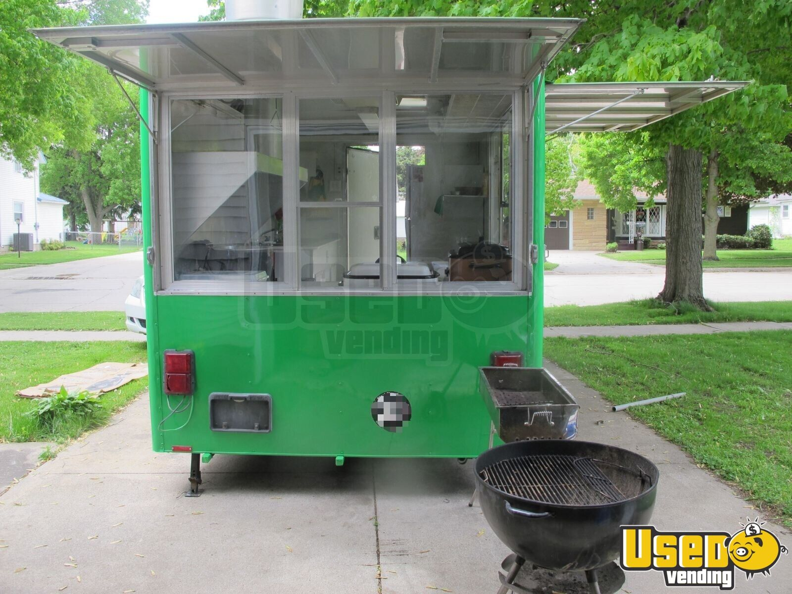 1996 Wells Cargo Concession Trailer Air Conditioning Florida for Sale - 2