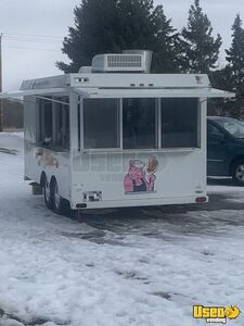 1997 Barbecue Concession Trailer Barbecue Food Trailer Minnesota for Sale