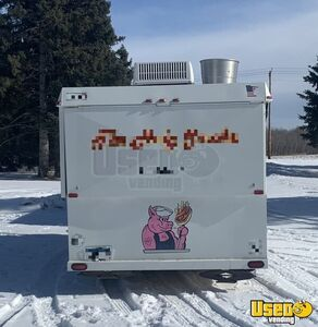 1997 Barbecue Concession Trailer Barbecue Food Trailer Removable Trailer Hitch Minnesota for Sale