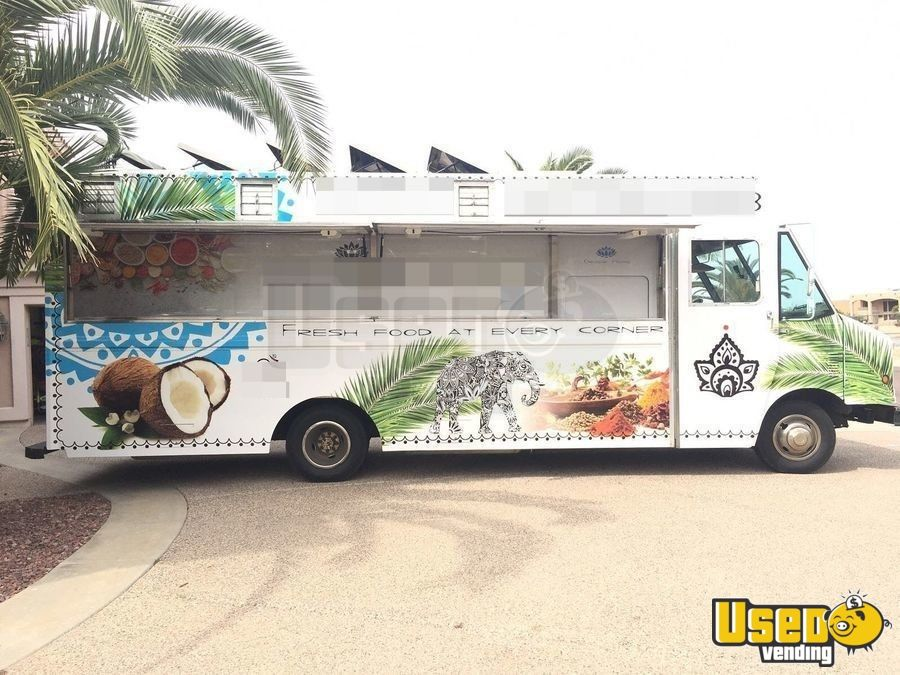 1997 Checy Food Truck Concession Window Arizona Diesel Engine for Sale - 2