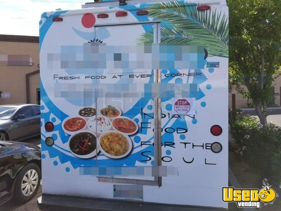 1997 Checy Food Truck Insulated Walls Arizona Diesel Engine for Sale - 5