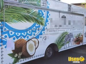 1997 Checy Food Truck Stainless Steel Wall Covers Arizona Diesel Engine for Sale