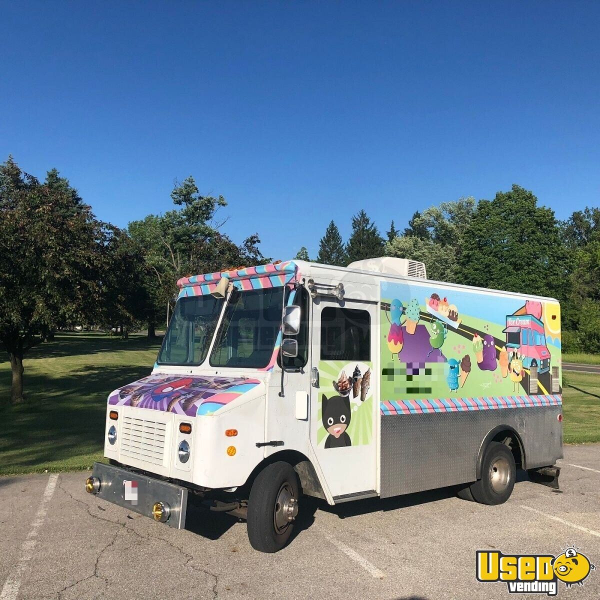 chevy ice cream truck used food truck for sale in ohio. Black Bedroom Furniture Sets. Home Design Ideas