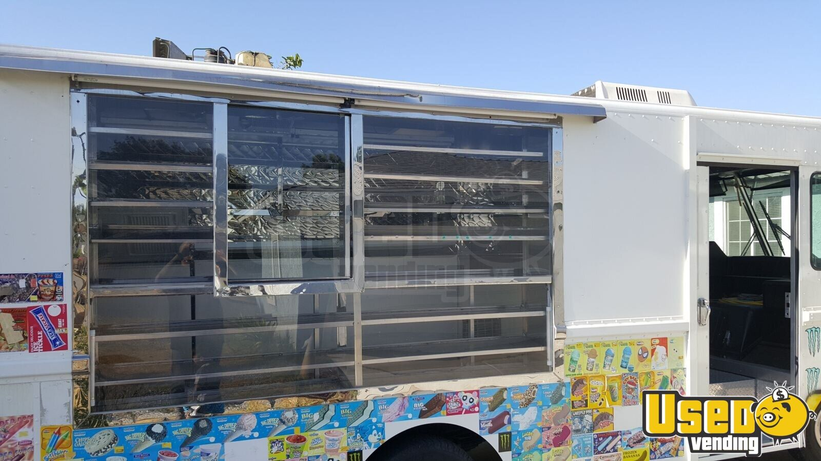 1997 Chevy Ice Cream Truck Deep Freezer California Gas Engine for Sale - 5