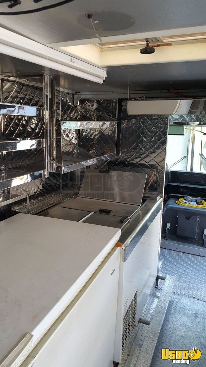 1997 Chevy Ice Cream Truck Interior Lighting California Gas Engine for Sale - 9