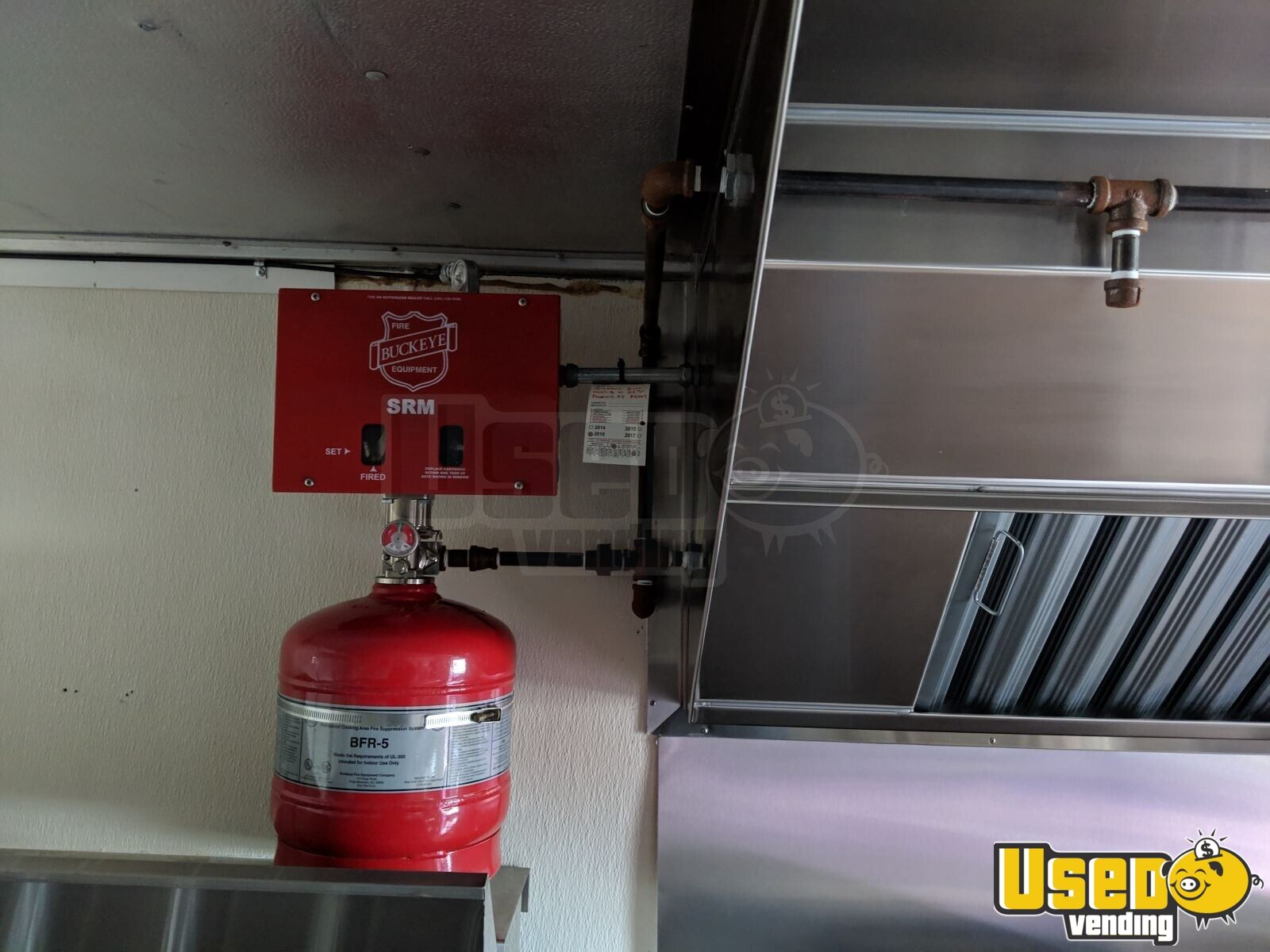 1997 Chevy P 30 All-purpose Food Truck Fire Extinguisher Indiana Gas Engine for Sale - 9