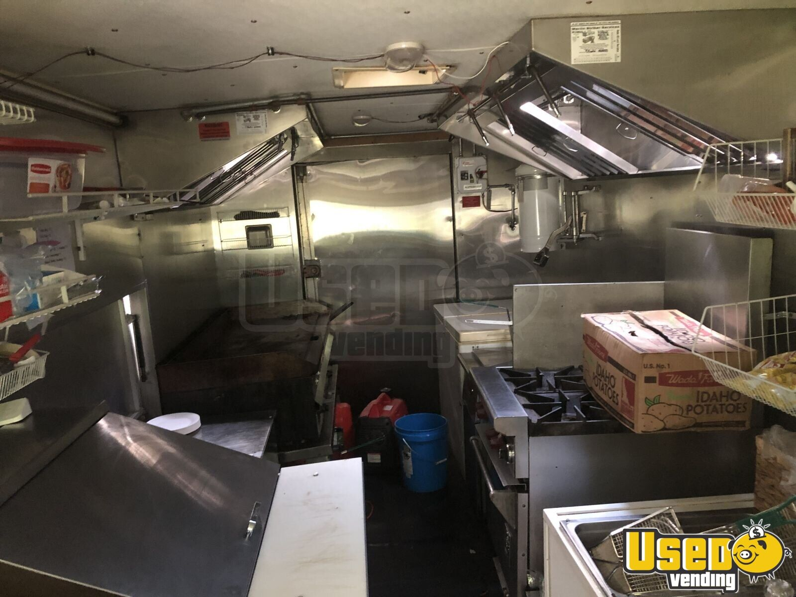 1997 Chevy P30 All-purpose Food Truck Concession Window Massachusetts for Sale - 2