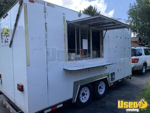 Very Versatile - 8.5' x 16.5' Food Concession Trailer Mobile Kitchen Unit for Sale in Minnesota!