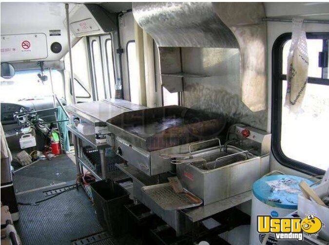 1997 Ford E 450 All-purpose Food Truck Work Table North Dakota for Sale - 10