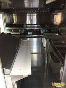 1997 Ford Truck Food Truck Diamond Plated Aluminum Flooring Maryland Gas Engine for Sale