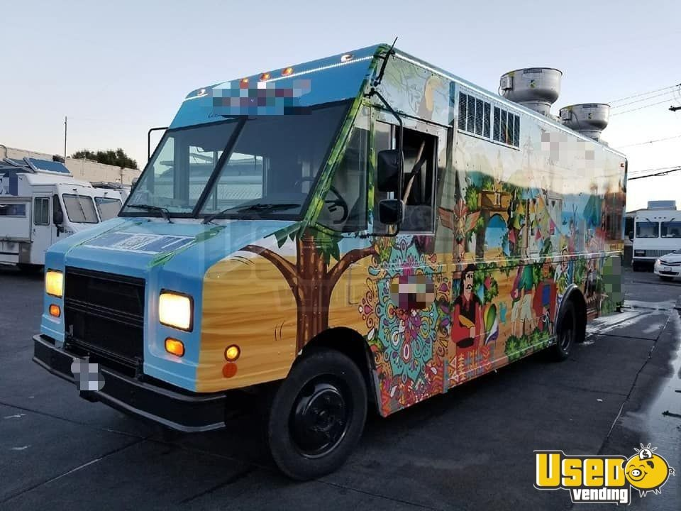 1997 Freightliner All-purpose Food Truck Concession Window California Diesel Engine for Sale - 3