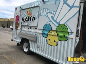 1997 Freightliner Ice Cream Truck Awning California Diesel Engine for Sale