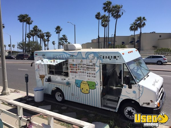 1997 Freightliner Ice Cream Truck California Diesel Engine for Sale