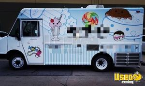 1997 Freightliner Ice Cream Truck Concession Window California Diesel Engine for Sale