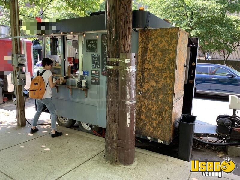 1997 Frstr - Espresso Express Beverage - Coffee Trailer Air Conditioning Pennsylvania for Sale - 2