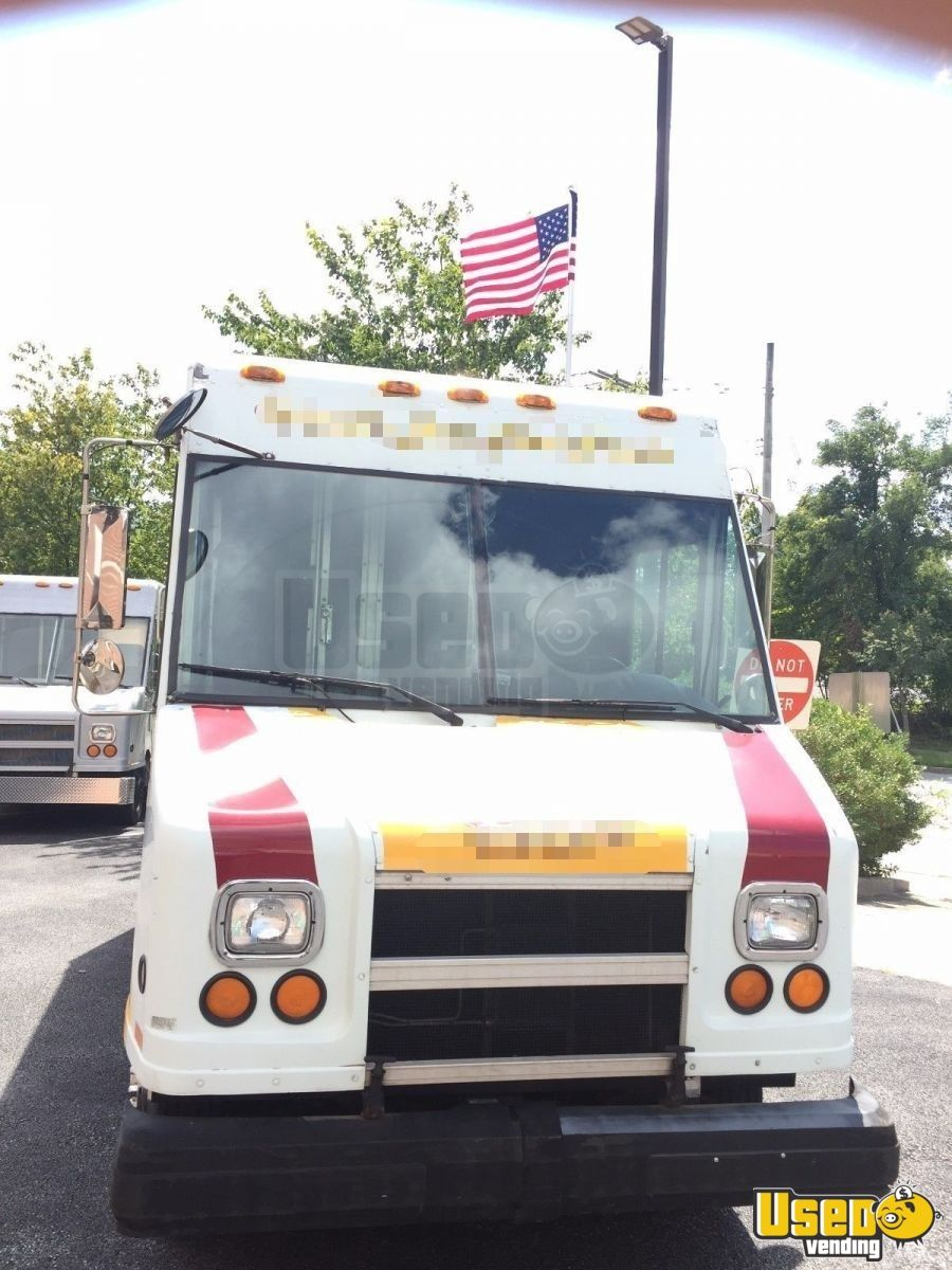 1997 Gmc All-purpose Food Truck Spare Tire Maryland Diesel Engine for Sale - 3