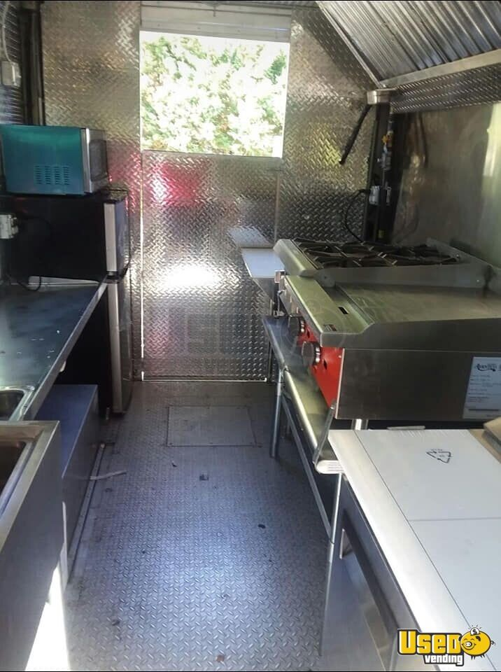 1997 Gmc All-purpose Food Truck Stovetop Virginia Diesel Engine for Sale - 7