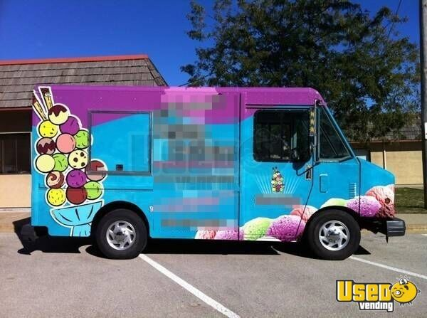 for sale turnkey gmc ice cream truck in illinois used food truck. Black Bedroom Furniture Sets. Home Design Ideas