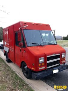 1997 P3500 Step Van Kitchen Food Truck All-purpose Food Truck Exterior Customer Counter Virginia Diesel Engine for Sale