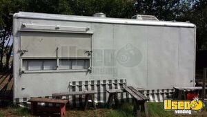 1997 Wells Cargo Wec 202 All-purpose Food Trailer Cabinets Texas for Sale