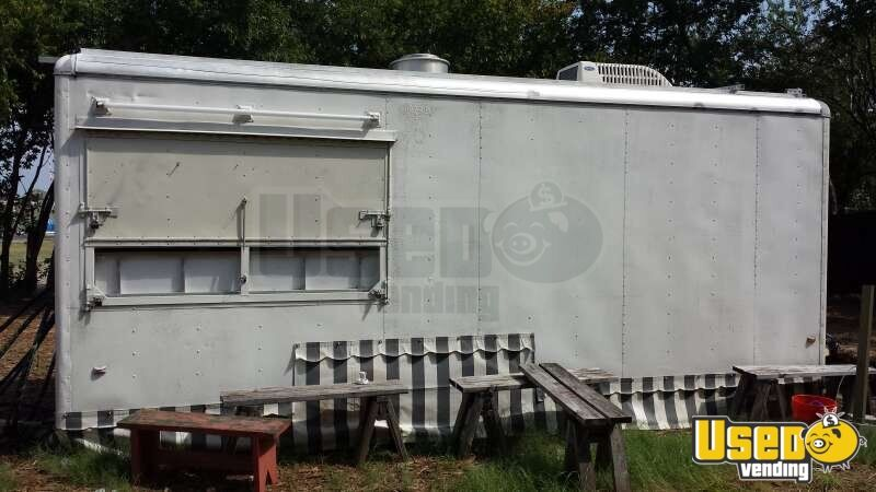 1997 Wells Cargo Wec 202 Kitchen Food Trailer Cabinets Texas for Sale - 3
