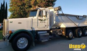 1998 378 Triaxle 18' Dump Truck Peterbilt Dump Truck 2 California for Sale