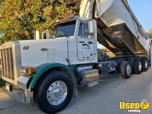 1998 378 Triaxle 18' Dump Truck Peterbilt Dump Truck 3 California for Sale
