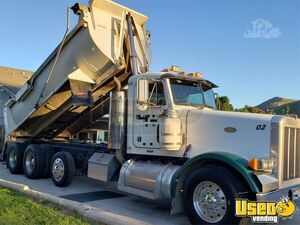 1998 378 Triaxle 18' Dump Truck Peterbilt Dump Truck 4 California for Sale