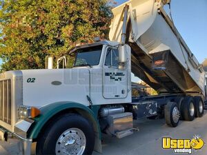 1998 378 Triaxle 18' Dump Truck Peterbilt Dump Truck 6 California for Sale