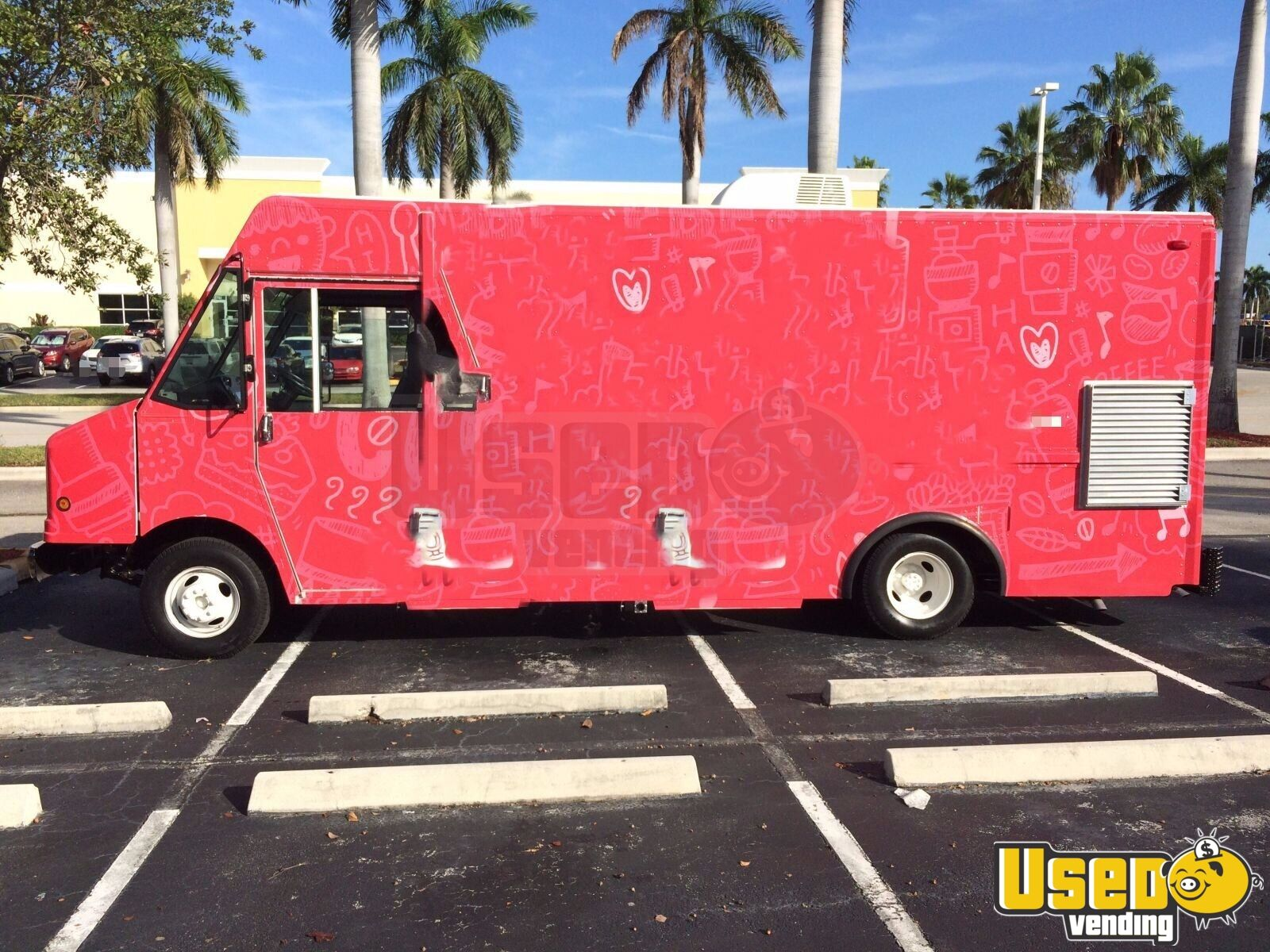 1998 Chevi P30 All-purpose Food Truck Air Conditioning Florida Gas Engine for Sale - 2