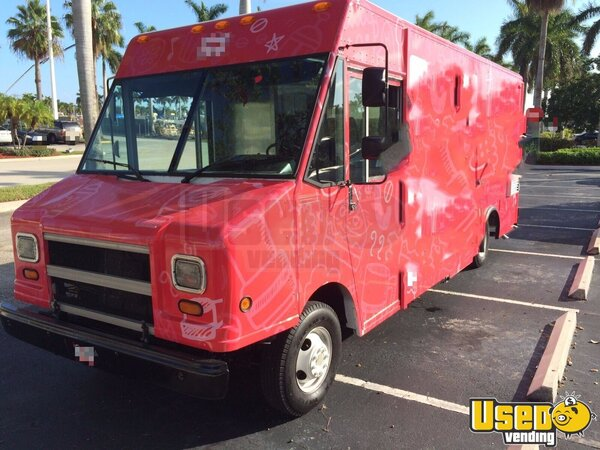 1998 Chevi P30 All-purpose Food Truck Florida Gas Engine for Sale