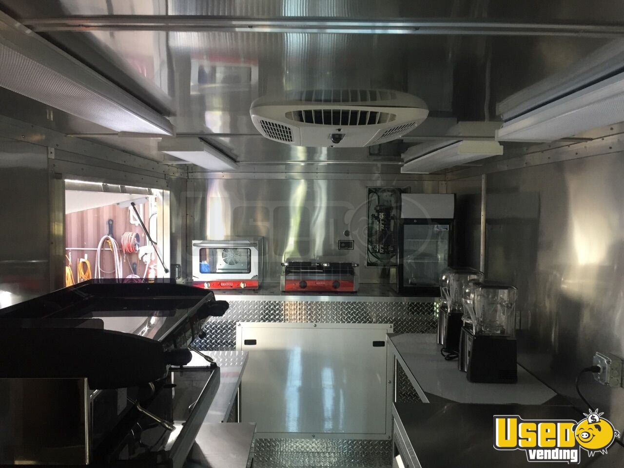 1998 Chevi P30 All-purpose Food Truck Stainless Steel Wall Covers Florida Gas Engine for Sale - 5