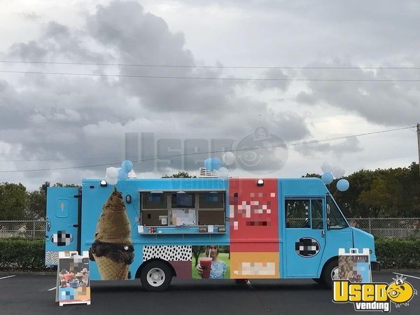 1998 Chevrolet P30 Ice Cream Truck Florida Diesel Engine for Sale