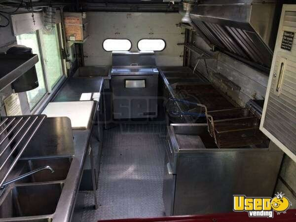 1998 Chevy All-purpose Food Truck Deep Freezer Texas Gas Engine for Sale - 4