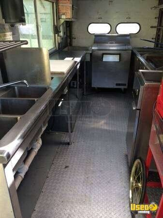 1998 Chevy All-purpose Food Truck Refrigerator Texas Gas Engine for Sale - 5