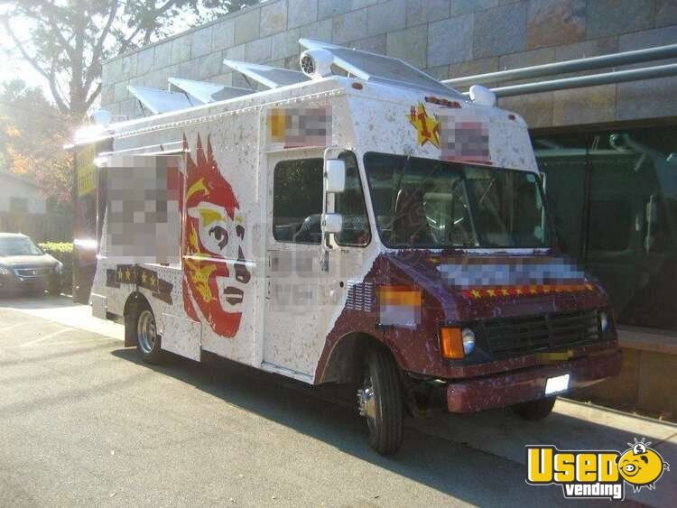 Established Food Truck For Sale In California Turnkey Operation
