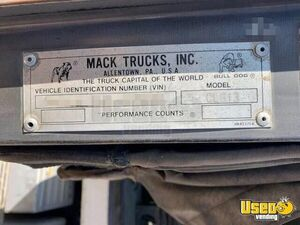 1998 Cl 613 Dump Truck Mack Dump Truck 16 California for Sale