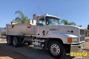 1998 Cl 613 Dump Truck Mack Dump Truck Cb Radio California for Sale