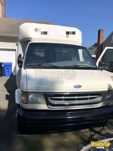 1998 Ford Econoline E350 Mobile Boutique Truck Exterior Lighting New Jersey Diesel Engine for Sale