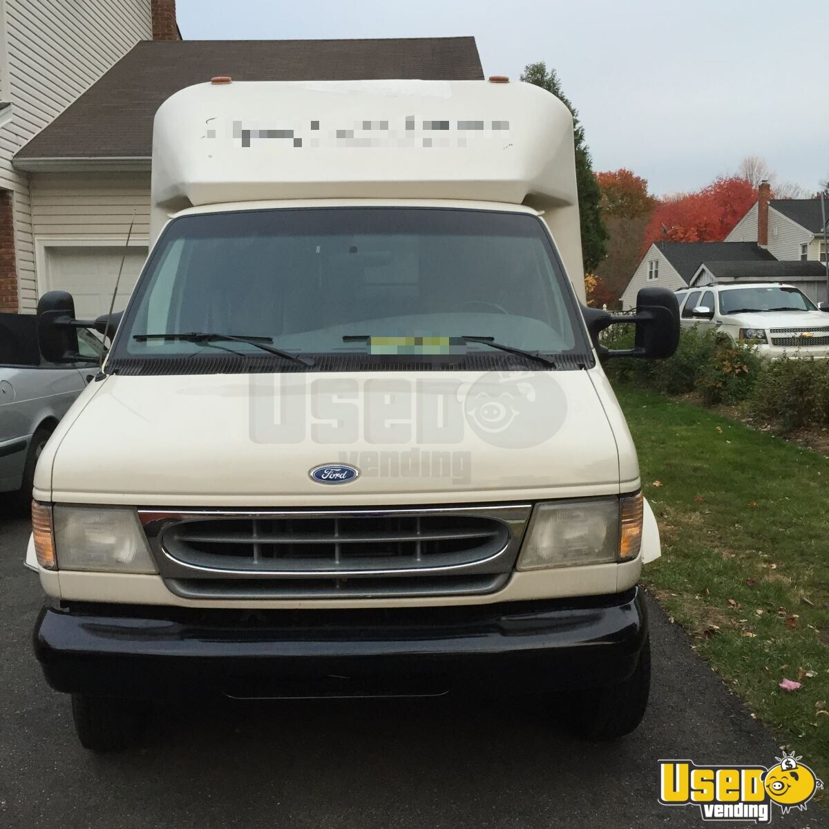 1998 Ford Econoline E350 Mobile Boutique Truck Spare Tire New Jersey Diesel Engine for Sale - 3