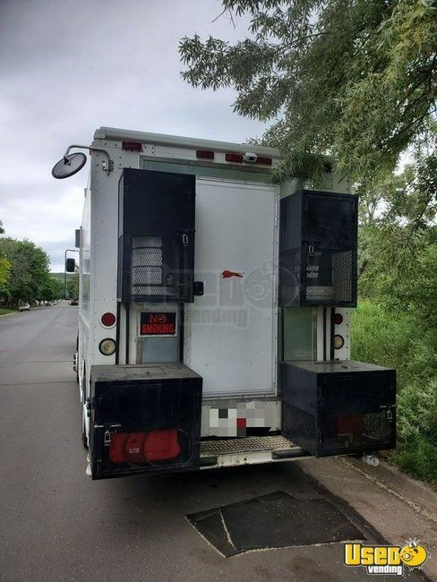 1998 Freightliner M Line All-purpose Food Truck Concession Window Colorado Diesel Engine for Sale