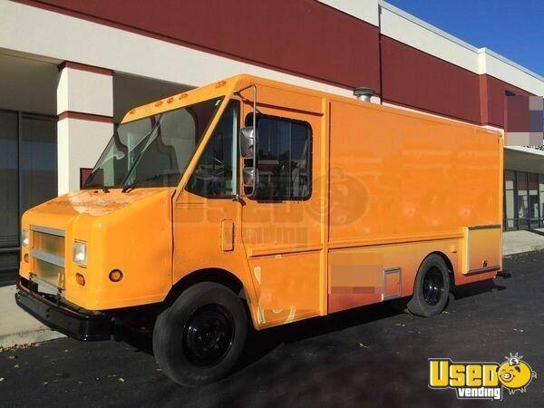 freightliner food truck mobile kitchen for sale in kentucky. Black Bedroom Furniture Sets. Home Design Ideas