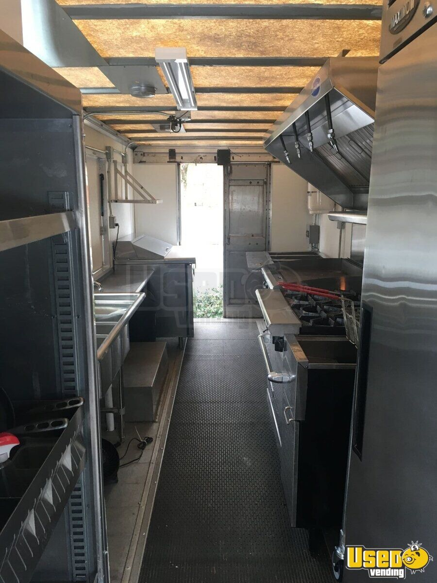 1998 Freightliner Mt45 All-purpose Food Truck Upright Freezer Georgia Diesel Engine for Sale - 9